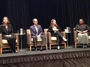 Melinda Gates, Jay Hoffman, JoAnn Miller, l'Aesha Warfield