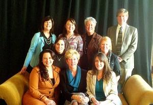 Jeanne Muzi, Maryann Woods-Murphy, Diane Cummins, Bob Goodman, Jeanne DelColle, Kathy Assini, Lauren Marrocco