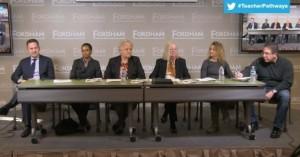 Jason Kamras, Kimberly Worthy, Lynn Gaddis, Katie Natale, Kathy McKnight, Rick Hess