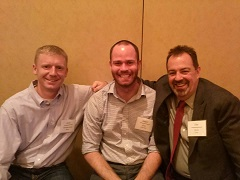Josh Stumpenhorst, Adam Gray, and Tim Dove learning about the CCSS in Chicago.