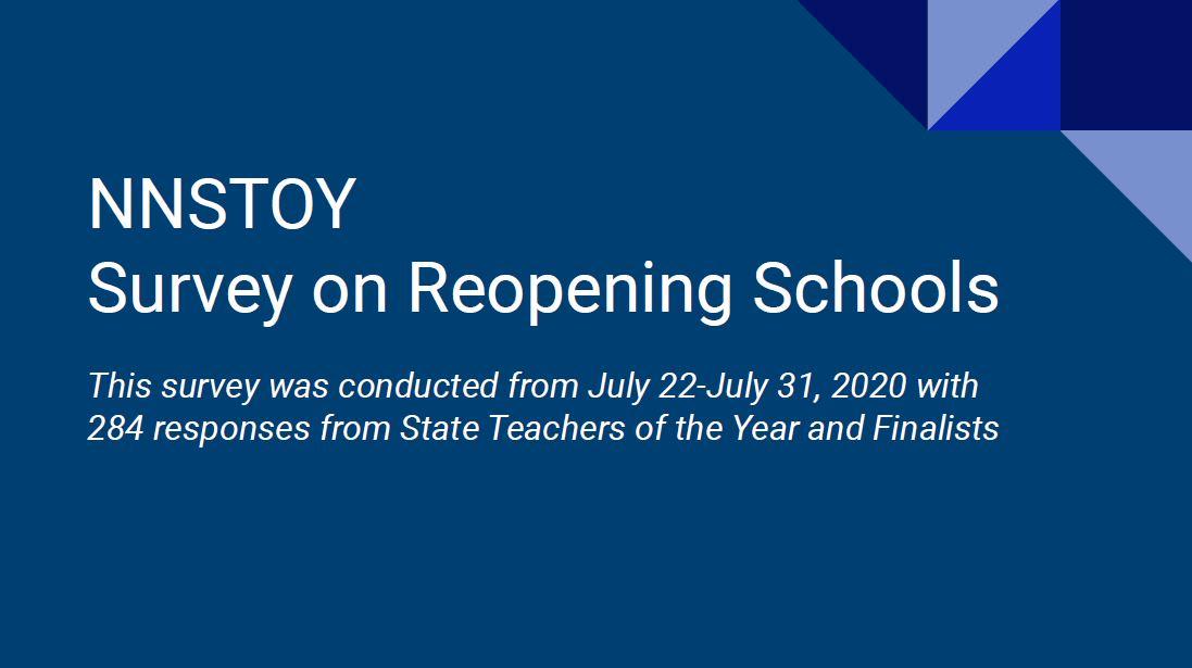 NNSTOY Membership Survey on Reopening Schools