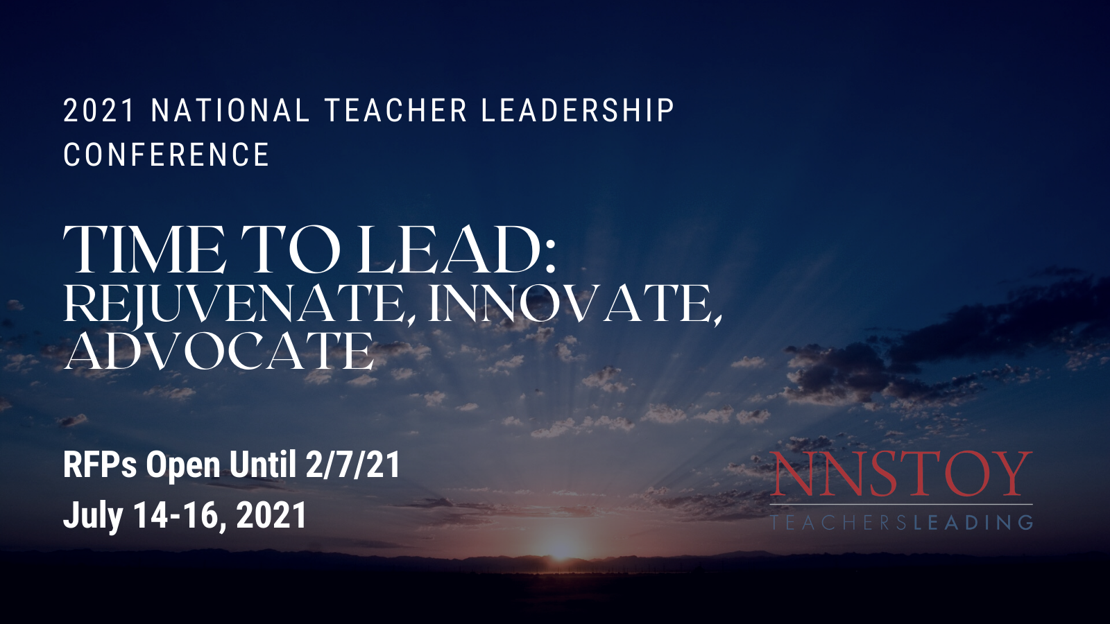RFP Window Open for the 2021 NNSTOY Conference