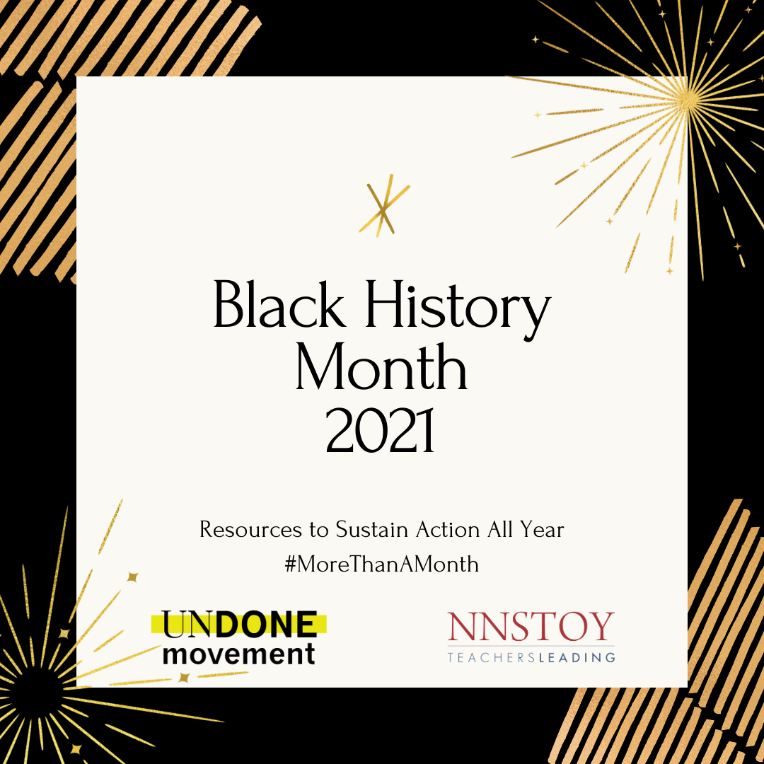 Black History Month Resources & Challenge